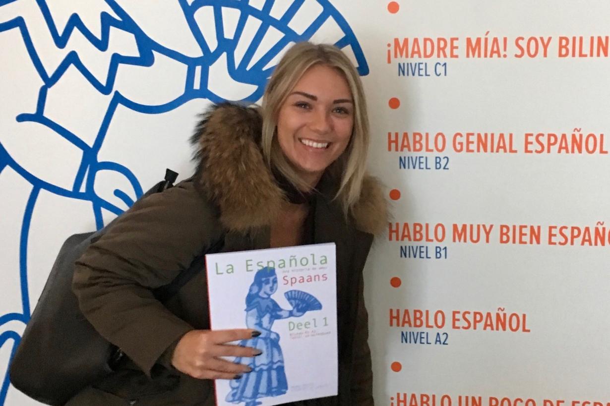 Spaans leren Rotterdam snel Ashley van Ooijen Amaya Gasull