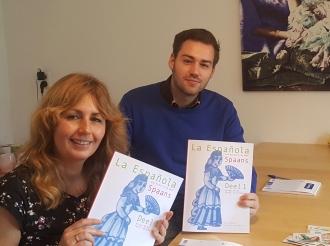 Spaans leren Rotterdam snel duo Amaya Gasull Beni van Kleef Rotterdam Learning Spanish