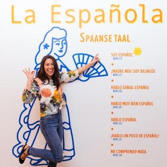 Adriana Lopez Spaams leren La Espanola Rotterdam